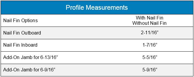 Profile Measurements Advantage glider