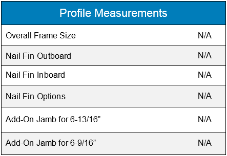 Profile Measurements Baybow